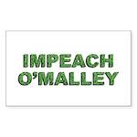 Impeach O'Malley Rectangle Sticker 10 pk)