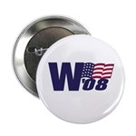 """George W. Bush in '08 2.25"""" Button (10 pack)"""