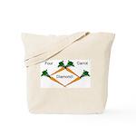 4 Carrot Diamond Tote Bag