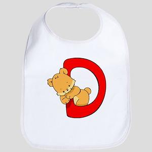 Zoo Alphabet D - Bear Bib