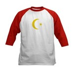 Anarchy Symbol Kids Baseball Jersey