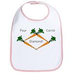 4 Carrot Diamond Bib