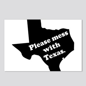 Please Mess With Texas Postcards (Package of 8)