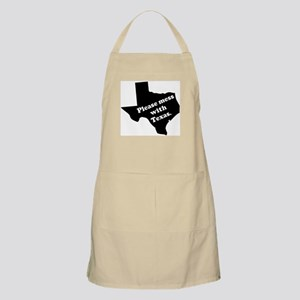 Please Mess With Texas BBQ Apron