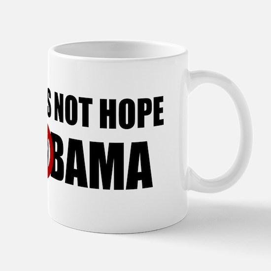 Hate is not hope! Mug
