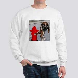 Dog Firehydrant Sweatshirt