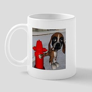 Dog Firehydrant Mug