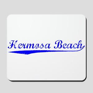 Vintage Hermosa Be.. (Blue) Mousepad