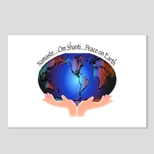 Om Shanti, Peace in the World Postcards (Package o