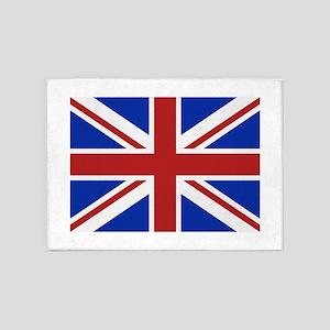 Great Britain flag 5'x7'Area Rug
