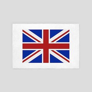 Great Britain flag 4' x 6' Rug
