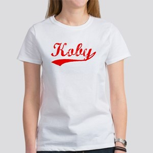 Vintage Koby (Red) Women's T-Shirt
