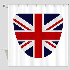 Great Britain flag Shower Curtain