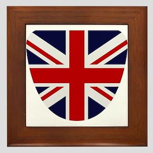 Great Britain flag Framed Tile