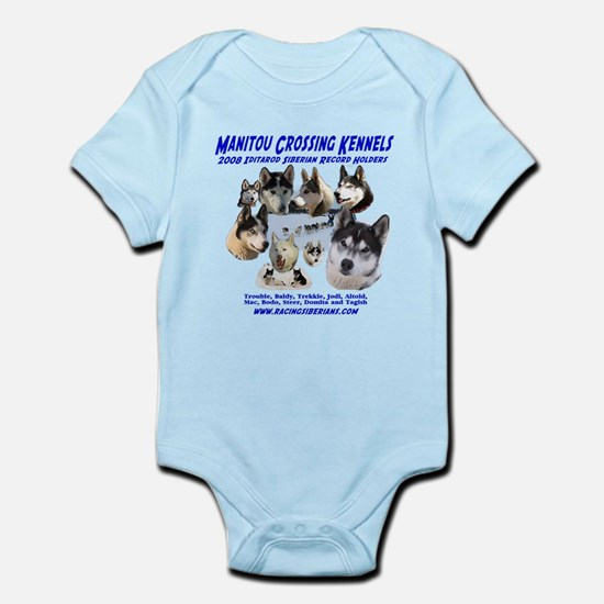 Iditarod Siberian Record Infant Bodysuit