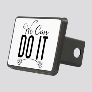 We Can Do It Rectangular Hitch Cover