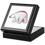 Animal Art Polar Bear Keepsake Box