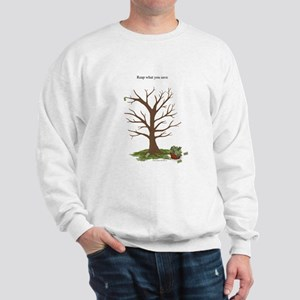 Reap What You Save Money Tree Sweatshirt