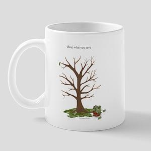 Reap What You Save Money Tree Mug