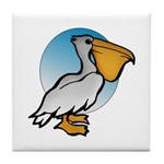 Animal Art Pelican Tile Coaster