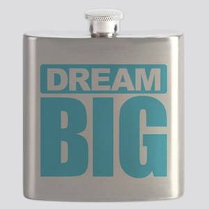 Dream Big - Blue Flask