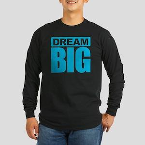 Dream Big - Blue Long Sleeve T-Shirt