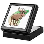 Animal Art Moose Keepsake Box
