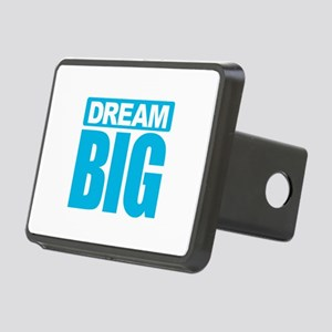 Dream Big - Blue Rectangular Hitch Cover