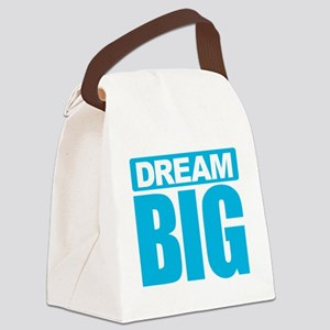 Dream Big - Blue Canvas Lunch Bag