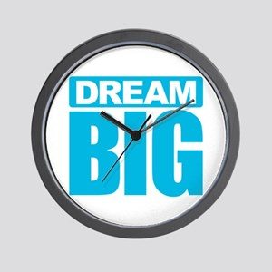 Dream Big - Blue Wall Clock
