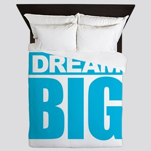 Dream Big - Blue Queen Duvet