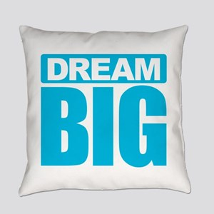 Dream Big - Blue Everyday Pillow