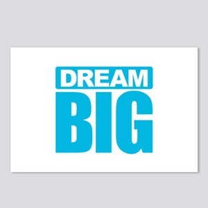 Dream Big - Blue Postcards (Package of 8)
