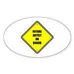 New Section Oval Sticker (10 pk)