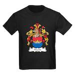 Precht Family Crest Kids Dark T-Shirt