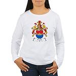Precht Family Crest Women's Long Sleeve T-Shirt