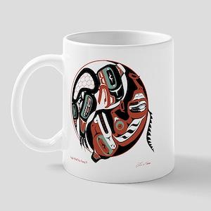 Eagle Wolf Yin-Yang Mug