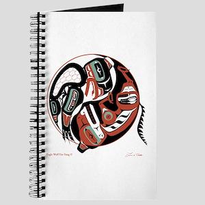 Eagle Wolf Yin-Yang Journal