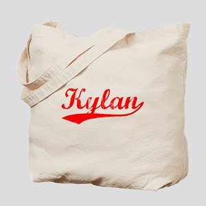 Vintage Kylan (Red) Tote Bag