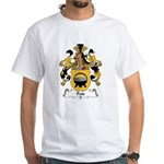 Pott Family Crest White T-Shirt