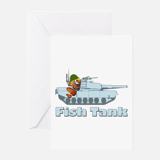 Fish Tank Greeting Card