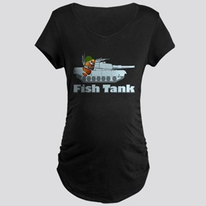 Fish Tank Maternity Dark T-Shirt