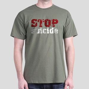 STOP Suicide Dark T-Shirt