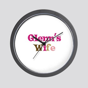 Glenn's Wife Wall Clock