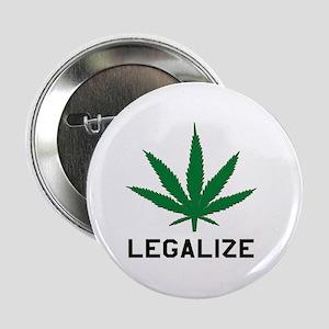 Legalize Marijuana Button