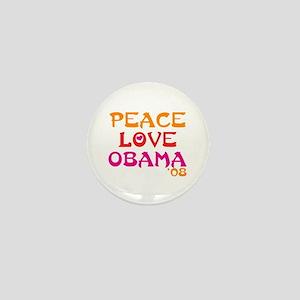 Obama For Change Mini Button