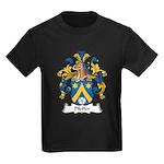 Pfeffer Family Crest Kids Dark T-Shirt