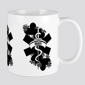 Nurse Heart Tattoo Mug