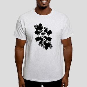 Nurse Heart Tattoo Light T-Shirt