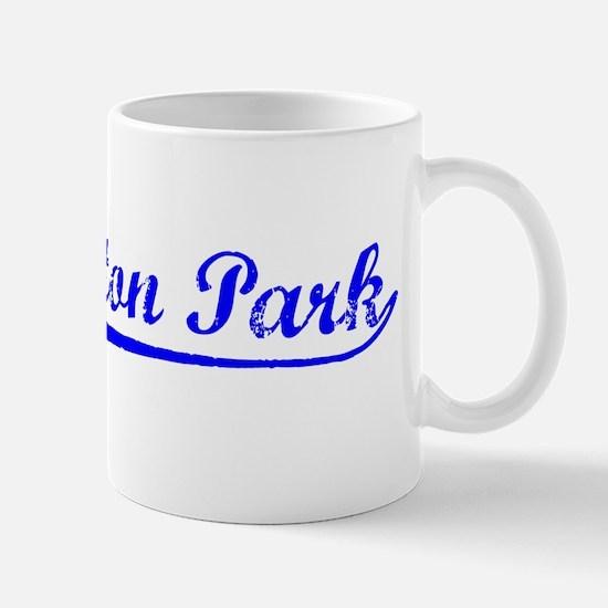 Vintage Huntington.. (Blue) Mug